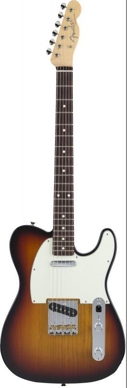 Fender フェンダー MADE IN JAPAN HYBRID 60S TELECASTER 3-Color Sunburst【5651600300】(エレキギター/テレキャスター)【国産・日本製】【フェンダー ジャパン】【送料無料】