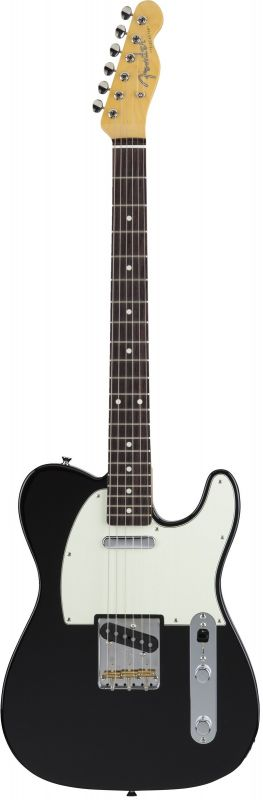 Fender フェンダー MADE IN JAPAN HYBRID 60S TELECASTER Black【5651600306】(エレキギター/テレキャスター)【国産・日本製】【フェンダー ジャパン】【送料無料】