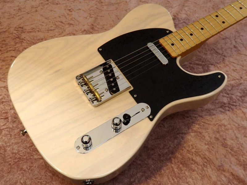 Fender MADE IN JAPAN HYBRID 50S TELECASTER US Blonde【フェンダー】【ジャパン】【日本製】【テレキャスター】【送料無料】