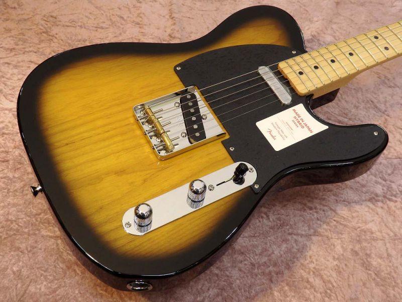 Fender MADE IN JAPAN HYBRID 50S TELECASTER 2-Color Sunburst【フェンダー】【ジャパン】【日本製】【テレキャスター】【送料無料】