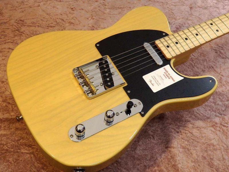 FenderMADE IN JAPAN HYBRID 50S TELECASTER Off-White Blonde【フェンダー】【ジャパン】【日本製】【テレキャスター】【送料無料】