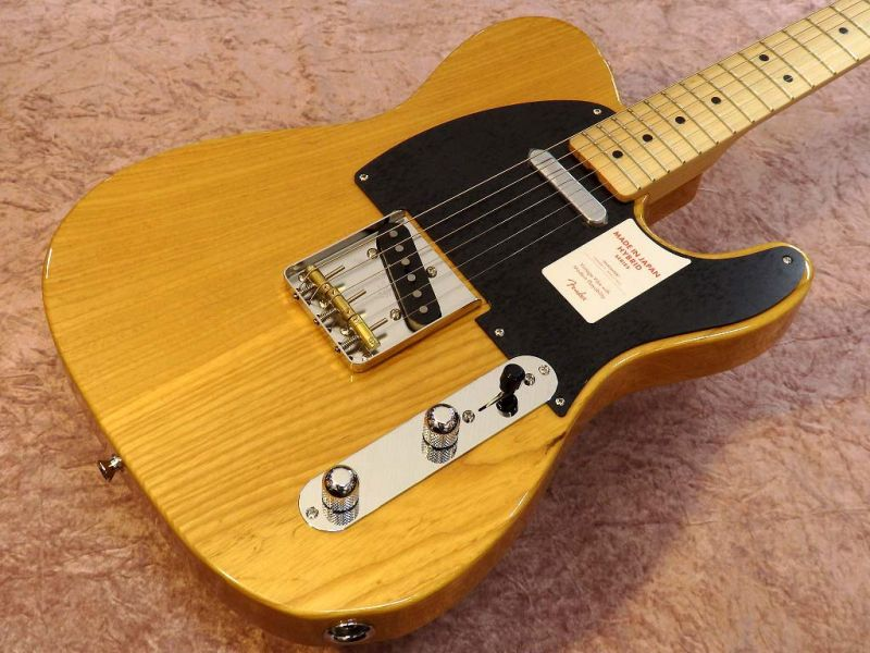 FenderMADE IN JAPAN HYBRID 50S TELECASTER Vintage Natural 【フェンダー】【ジャパン】【日本製】【テレキャスター】【送料無料】