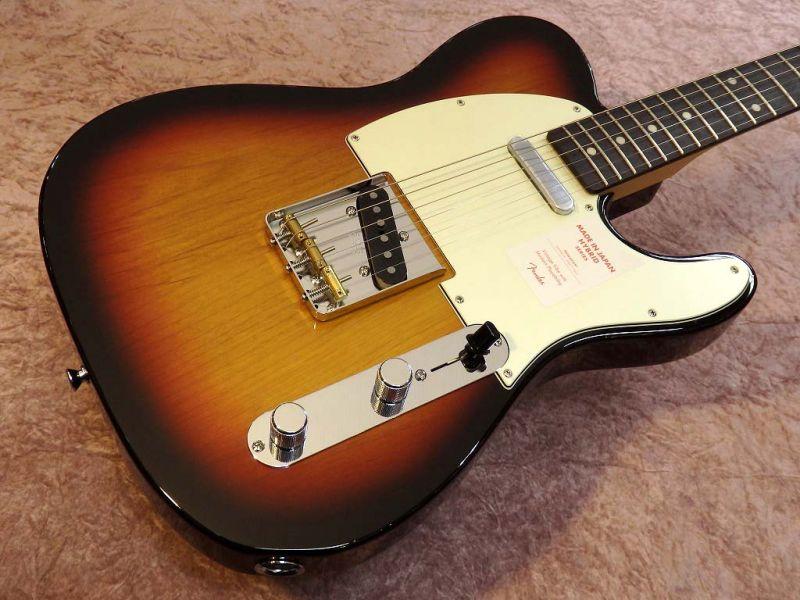FenderMADE IN JAPAN HYBRID 60S STRATOCASTER 3-Color Sunburst【フェンダー】【ジャパン】【日本製】【テレキャスター】【送料無料】