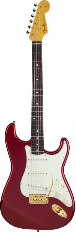 Fender フェンダー MADE IN JAPAN TRADITIONAL 60S STRATOCASTER® Rosewood Fingerboard,Candy Apple Red, GOLD HARDWARE 【5456600300】【国産・日本製】【ストラトキャスター】【送料無料】