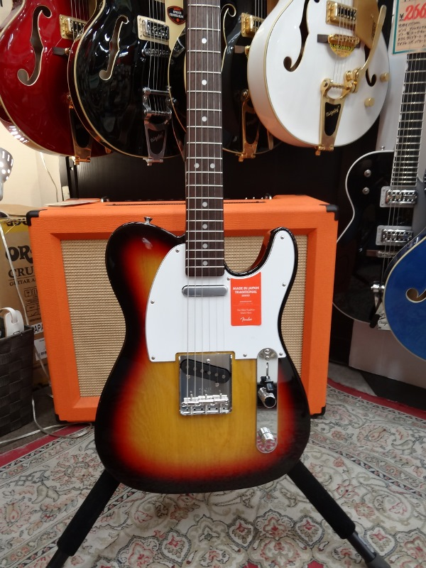 Fender フェンダー MADE IN JAPAN TRADITIONAL 70S TELECASTER® ASH 3TS【国産・日本製】【テレキャスター】【送料無料】