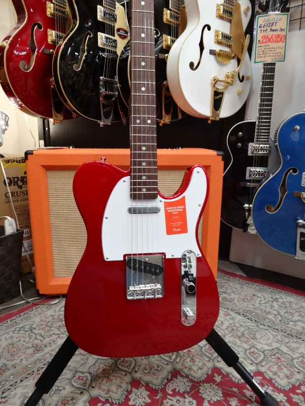 Fender フェンダー MADE IN JAPAN TRADITIONAL 70S TELECASTER® ASH CAR【国産・日本製】【テレキャスター】【送料無料】