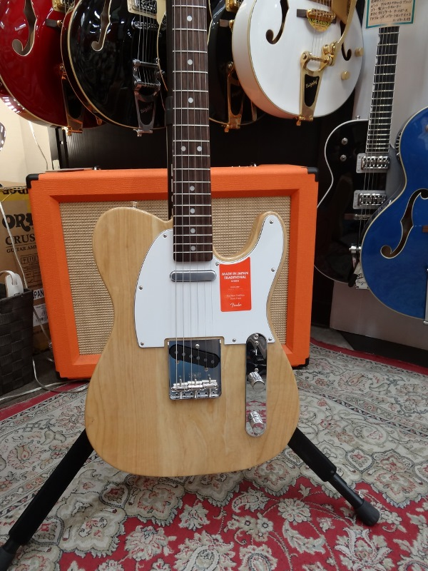 Fender フェンダー MADE IN JAPAN TRADITIONAL 70S TELECASTER® ASH NAT【国産・日本製】【テレキャスター】【送料無料】