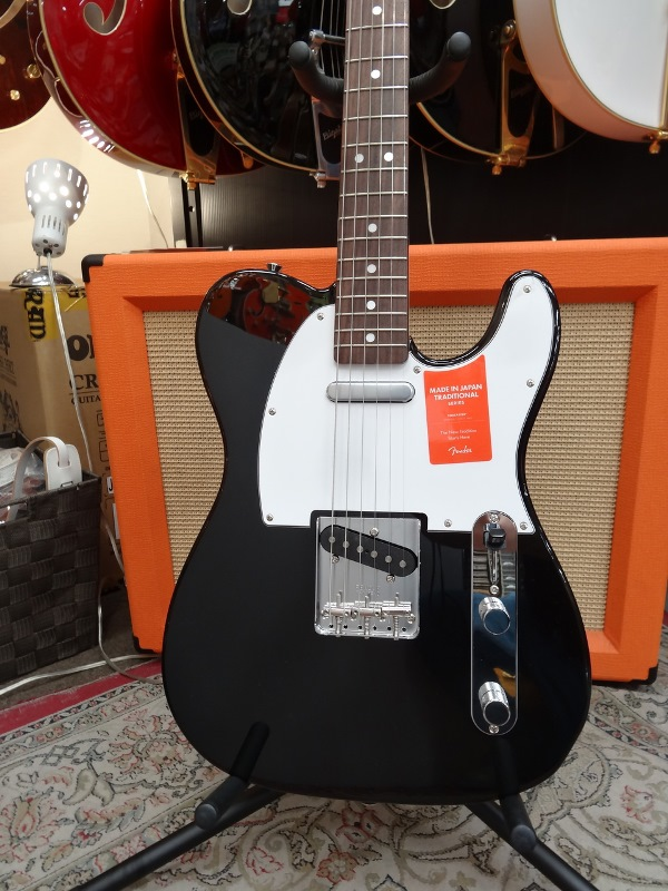 Fender フェンダー MADE IN JAPAN TRADITIONAL 70S TELECASTER® ASH BLK【国産・日本製】【テレキャスター】【送料無料】