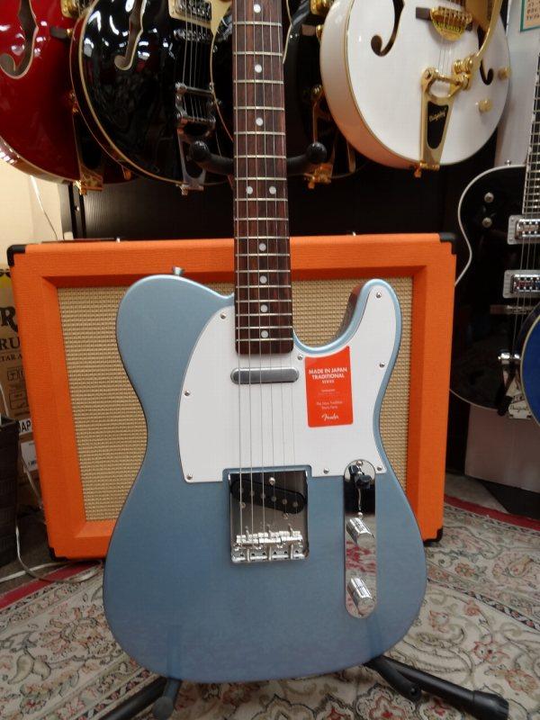 FenderMADE IN JAPAN TRADITIONAL 70S TELECASTER® ASH Blue Ice Metallic【フェンダー】【メイド・イン・ジャパン】【テレキャスター】