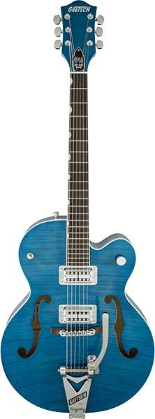 GretschG6120SH Brian Setzer Hot Rod / Harbor Blue 2-Tone【お取り寄せ商品】【グレッチ】【ホットロッド】【ブライアン・セッツァー】【送料無料】