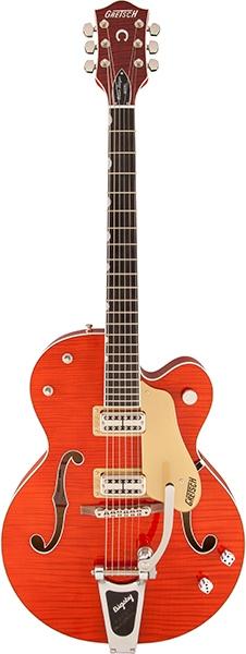 GretschG6120SSL Brian Setzer Nashville / Orange Lacquer【お取り寄せ商品】【グレッチ】【ナッシュビル】【シングルカット】【ブライアン・セッツァー】【ラッカー・フィニッシュ】【送料無料】