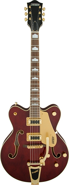Gretsch ElectromaticG5422TG Electromatic® Hollow Body Double-Cut with Bigsby® Walnut Stain【お取り寄せ商品】【グレッチエレクトロマチック】【エレマチ】【送料無料】