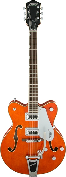 Gretsch ElectromaticG5422T Electromatic® Hollow Body Double-Cut with Bigsby® Orange Stain【お取り寄せ商品】【グレッチエレクトロマチック】【エレマチ】【送料無料】