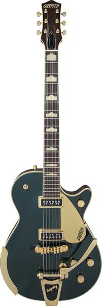 Gretsch グレッチ G6128T-57 Vintage Select '57 Duo Jet【ヴィンテージ・セレクト】【デュオジェット】【ビグスビー】【キャディラック・グリーン・メタリック・カラー】【お取り寄せ品】【送料無料】