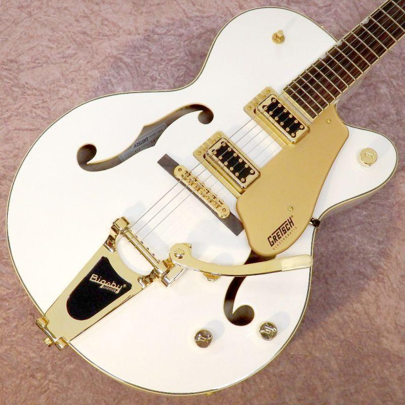 Gretsch グレッチ G5420TG-FSR Electromatic Hollow Body Single-Cut with Bigsby White【シングルカット】【ビグスビー】【送料無料】