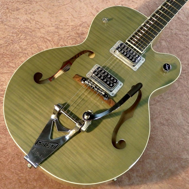 GretschG6120SH Brian Setzer Hot Rod / Highland Green 2-Tone【グレッチ】【ホットロッド】【ブライアン・セッツァー】【送料無料】
