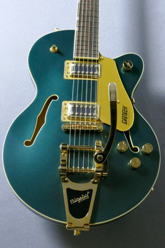 Gretsch G5655TG Center Block Jr. Single-Cut with Bigsby Cadillac Green【グレッチ】