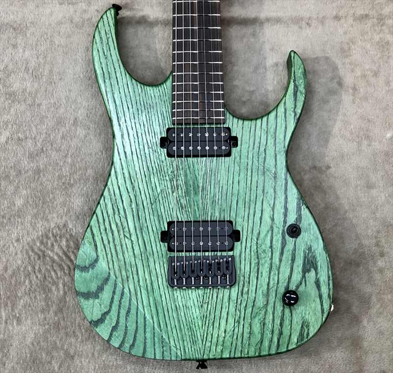 Strictly 7 Guitars Cobra JS7 OL Green Oil【Made In Japan】ジェント、メタル系ギタリスト必見!