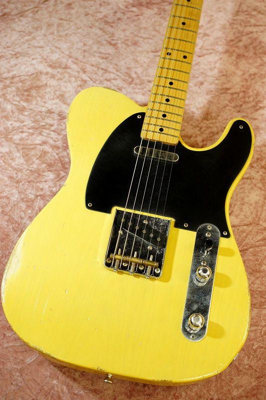 Fullertone Guitars TELLINGS 52 1P Ash Rusted 2017年製【中古・USED】【フラートン】【テレキャスター】【送料無料】