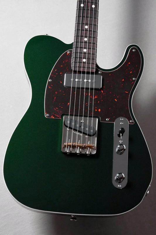 Psychederhythm Standard-T -Dark Emerald Mica- 【2本限定】【大人気モデル!】【サイケデリズム】【テレキャスター】