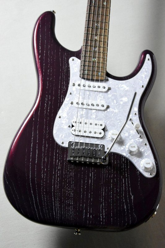 Psychederhythm Standard-S SSH -Moire Deep Rosso Pearl-【2本限定!】