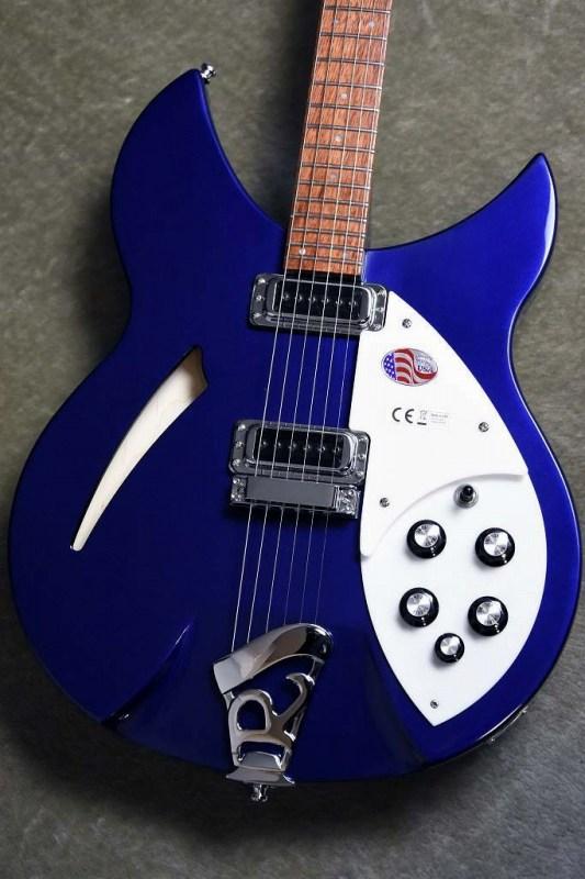 Rickenbacker 【人気カラー入荷!】330~Midnight Blue~#18 34714【3.46kg】【リッケンバッカー】【ミッドナイトブルー】