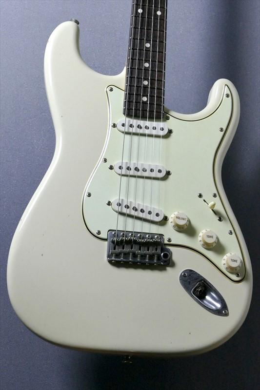 J.W.Black Guitars JP-S Light Aged-Olympic White- #190001【リニューアルモデル!】【Jブラック】【ストラトキャスター】