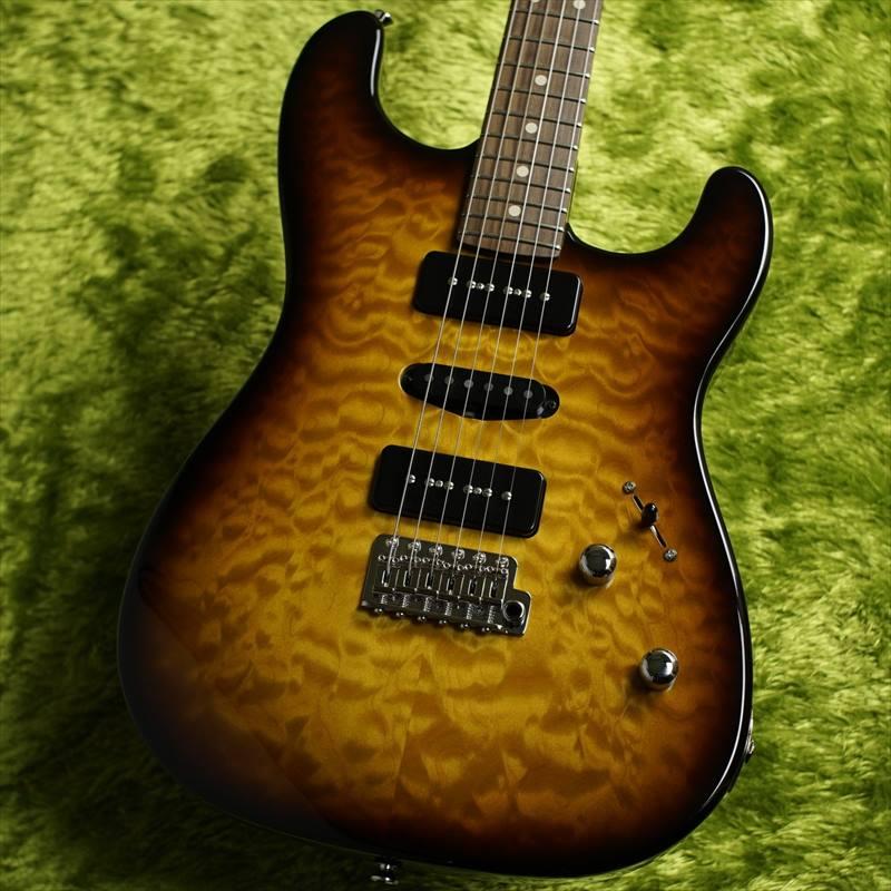 J.W.Black Guitars JWB-S -2 ToneSunBurst- #JWB-409 [3.18kg]【キルトメイプルトップ!!】