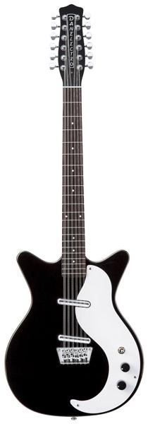 Danelectro12 STRING【ブラック(BLK)】【エレキギター】【ダンエレクトロ】【12弦】