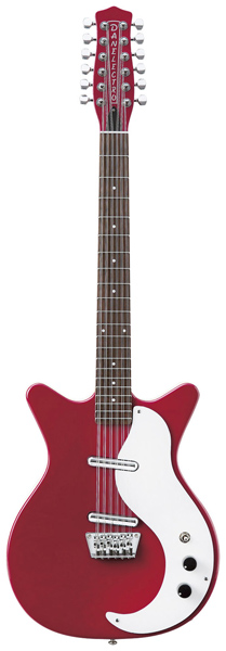 Danelectro12 STRING【レッド(RED】【エレキギター】【ダンエレクトロ】【12弦】