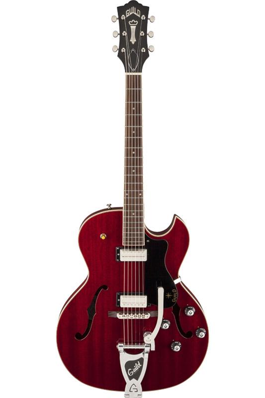 GUILD ギルド Newark St. Collection STARFIRE III w/ Bigsby (Cherry Red) 【セミアコ】【アーム搭載】【ハードケース付属】【送料無料】