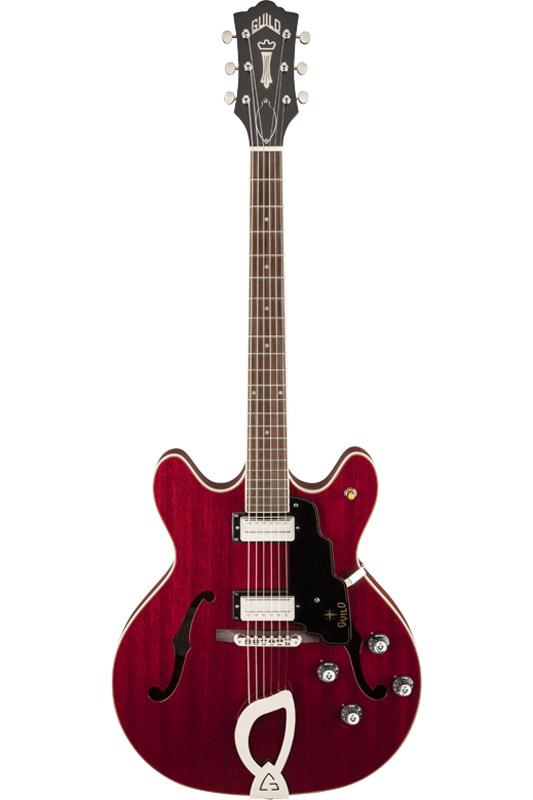 GUILD ギルド Newark St. Collection STARFIRE IV (Cherry Red) 【セミアコ】【ハードケース付属】【送料無料】