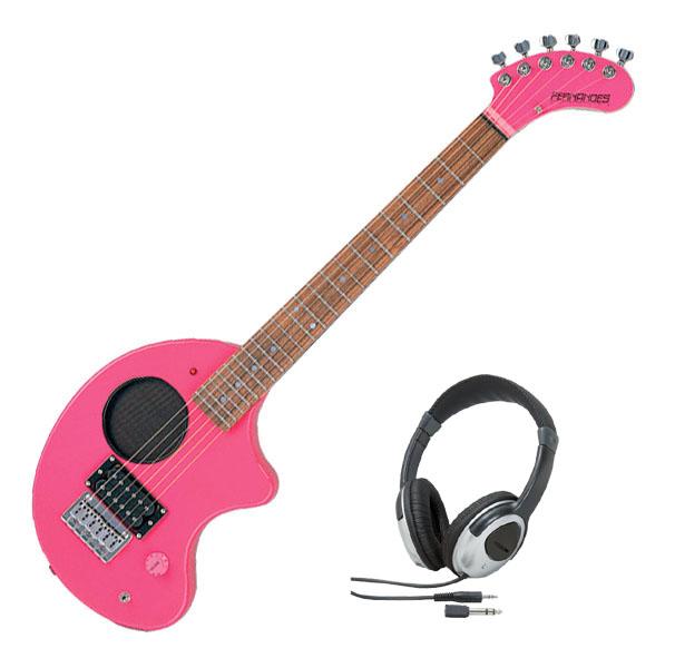 Fernandes フェルナンデス ZO-3 '11 W/SC PINK【ピンクカラー】【ヘッドホンサービス】【アンプ内蔵ギター】【ZO-3シリーズ】【ソフト・ケース付】【送料無料】