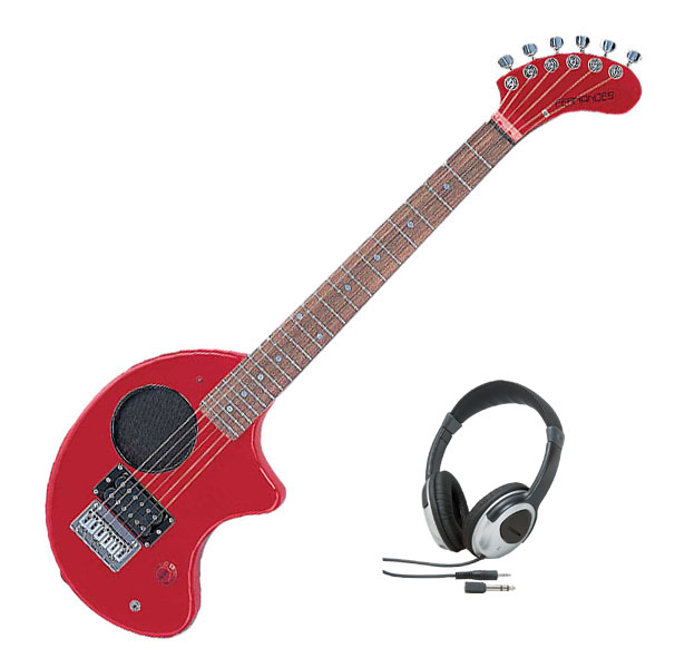 Fernandes フェルナンデス ZO-3 '11 W/SC RED【レッドカラー】【ヘッドホンサービス】【次回入荷予約受付中】【アンプ内蔵ギター】【ZO-3シリーズ】【ソフト・ケース付】【送料無料】