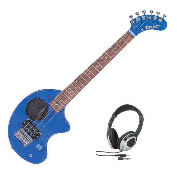 Fernandes フェルナンデス ZO-3 '11 W/SC BLUE【ブルーカラー】【ヘッドホンサービス】【次回入荷予約受付中】【アンプ内蔵ギター】【ZO-3シリーズ】【ソフト・ケース付】【送料無料】