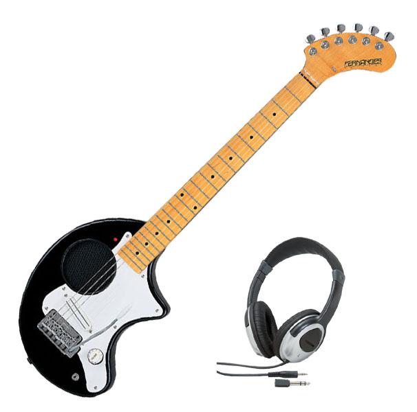 Fernandes フェルナンデス ZO-3ST '11 BLK/M【ブラック/メイプル指板】【ヘッドホンサービス】【次回入荷予約受付中】【アンプ内蔵ギター】【ZO-3シリーズ】【ソフト・ケース付】【送料無料】