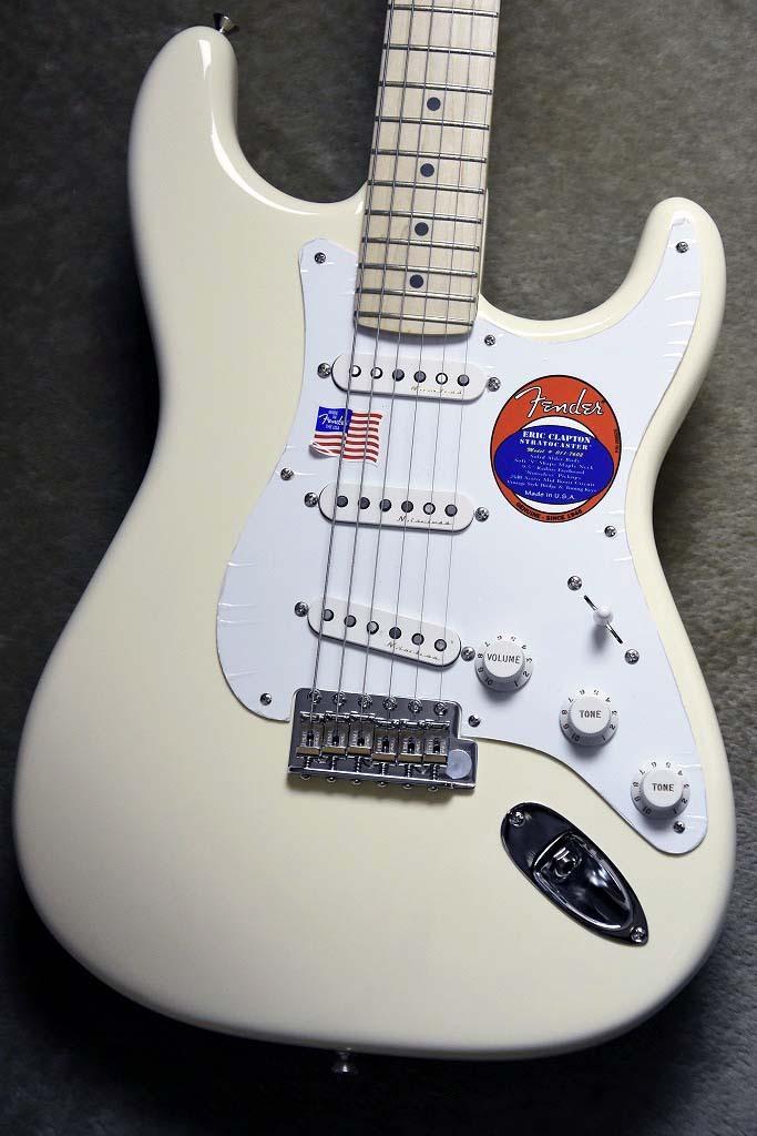 Fender Eric Clapton Stratocaster -Olympic White- [US18006476][3.73kg]