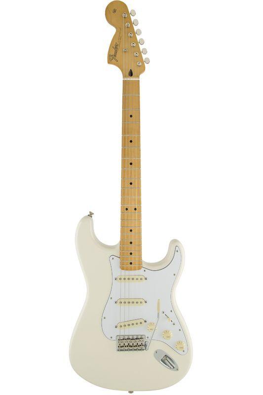 【お取り寄せ商品】Fender Mexico Artist Series Jimi Hendrix Statocaster ~Olympic White~ 【フェンダーメキシコ】【ストラトキャスター】【ジミ・ヘンドリックス】【送料無料】