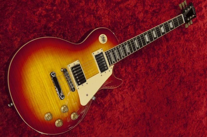 G.I.G. LP-STD Cherry Sunburst【チェリーサンバースト】【ソフトケース付属】【レスポール・タイプ】【セットネック】【初心者向け】【入門エレキギター】【送料無料】