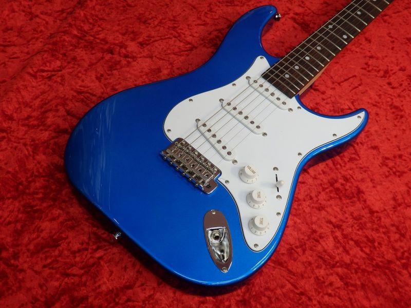 Greco グレコ WS-STD (Blue / Rosewood) 【国産・日本製】【ストラトキャスター】【送料無料】