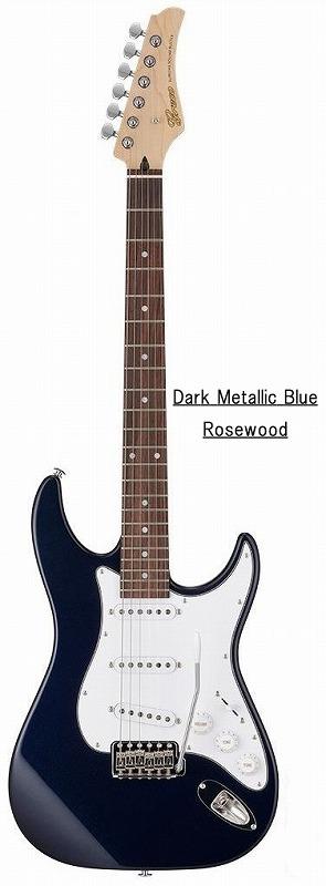 Greco グレコ WS-STD (Dark Metallic Blue / Rosewood) 【国産・日本製】【ストラトキャスター】【送料無料】