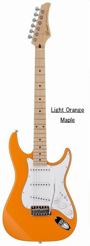 Greco グレコ WS-STD (Light Orange / Maple) 【国産・日本製】【ストラトキャスター】【送料無料】