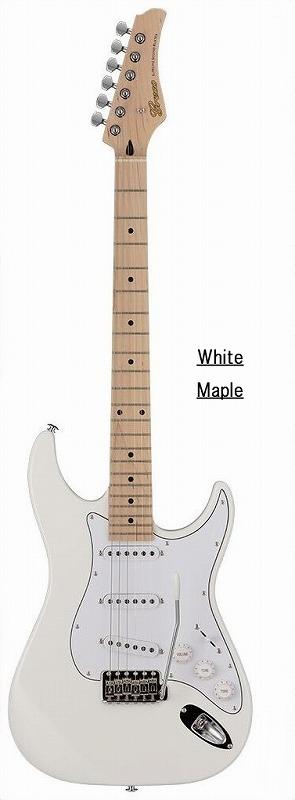 Greco グレコ WS-STD (White / Maple) 【国産・日本製】【ストラトキャスター】【送料無料】