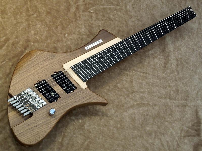 CLAAS Guitars Moby Dick 7 Custom【7弦】【クラースギターズ】【Made in Germany/ドイツ製】【モディ・ディック】【ヘッドレス】【シングルカット】【デタッチャブル】【ボルトオン】
