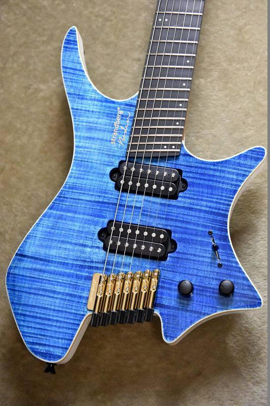 strandberg Boden J7 BLUE【7弦】【#D1809012】【楽器フェア出展モデル】【ストランドバーグ】【ボーデン】【日本製】