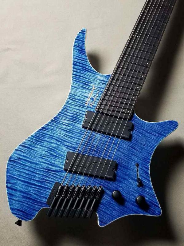 strandberg Boden J8 Standard 5A Flamed Maple Gloss【Blue】【SPOTモデル】 1本のみ入荷!【ストランドバーグ】【ボーデン】【8弦】【日本製】