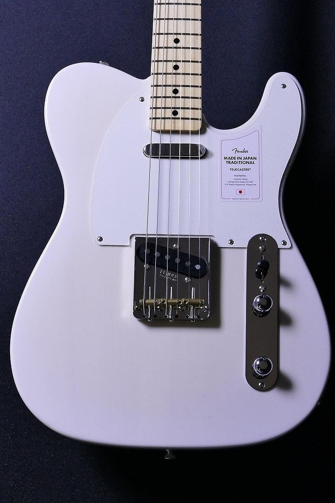 Fender【軽量個体!】MadeInJapanTraditional50sTelecaster#20001229-WhiteBlonde-【3.00kg】