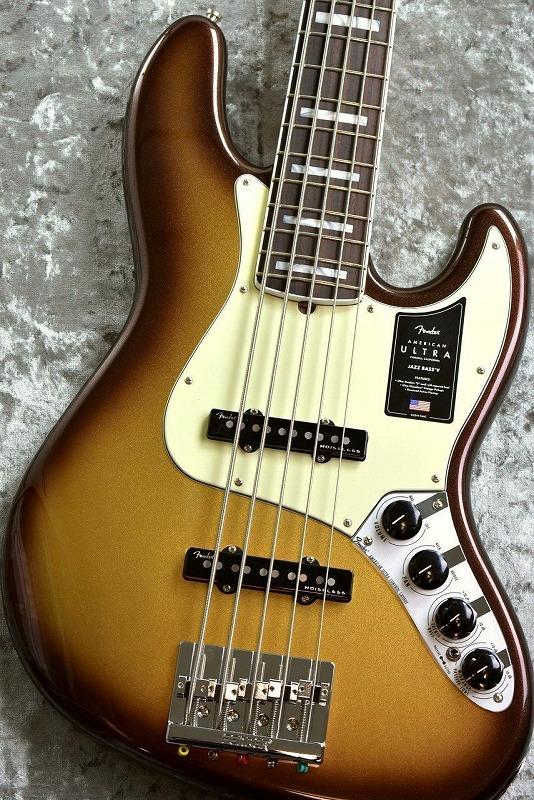 お気軽にお問い合わせ下さい Fender American Ultra Jazz ◇限定Special Price Bass 激安セール V お茶の水駅前店 -Mocha Rosewood Alder Burst- NEW