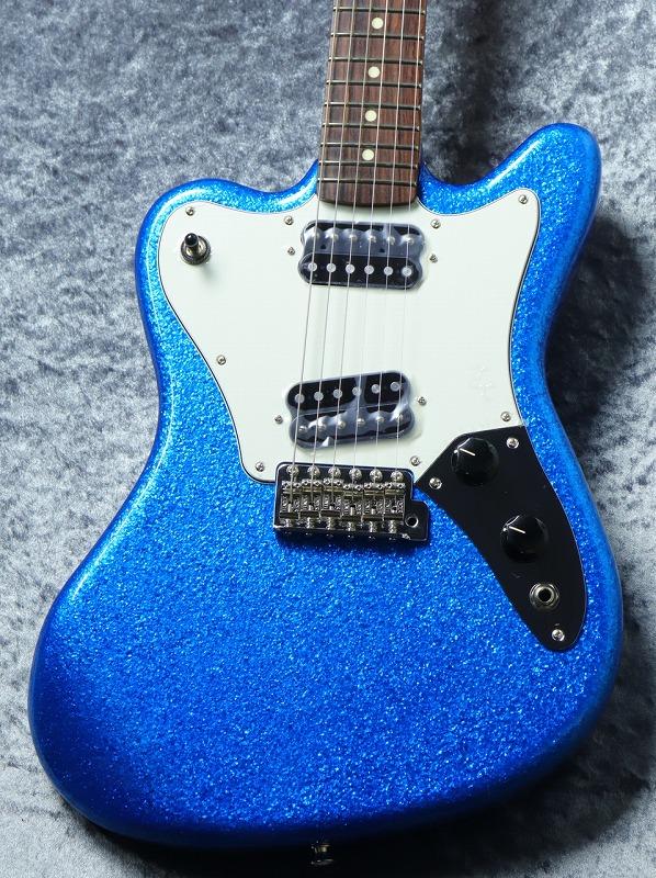 お気軽にお問い合わせ下さい Fender 数量限定 3.4kg 定番 Made in 人気激安 Japan -Blue Sparkle- Super-Sonic Limited #JD21015704 お茶の水駅前店