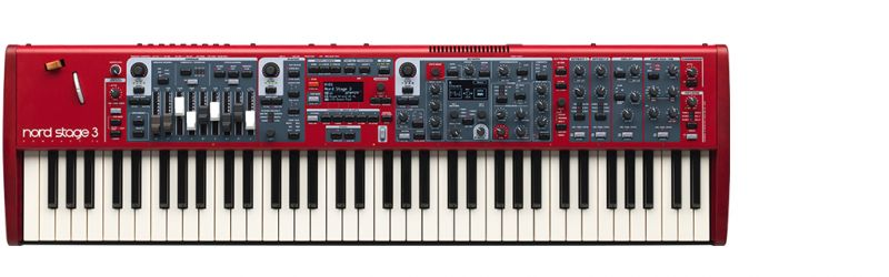 Nord(Clavia) NORD STAGE 3 EX COMPACT【ノード】【ステージ3】【コンパクト】【送料無料】